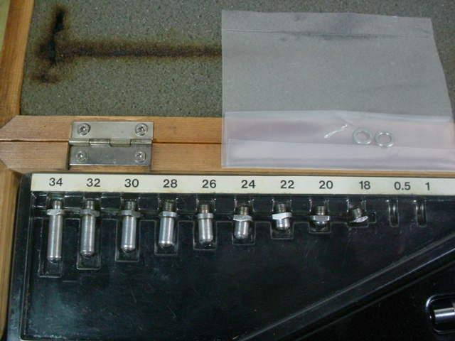シリンダーゲージ 中古品 ピーコック製 18-35mm ダイヤルゲージ付 R_画像2