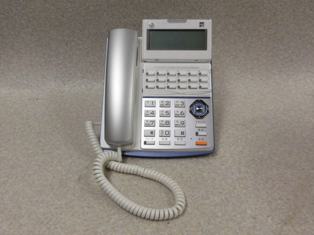 Ω・保証有 ZF1★17156★TD710(W) SAXA サクサ PLATIA プラティア 多機能電話機 領収書発行可能 仰天価格 同梱可 2017年製_画像1