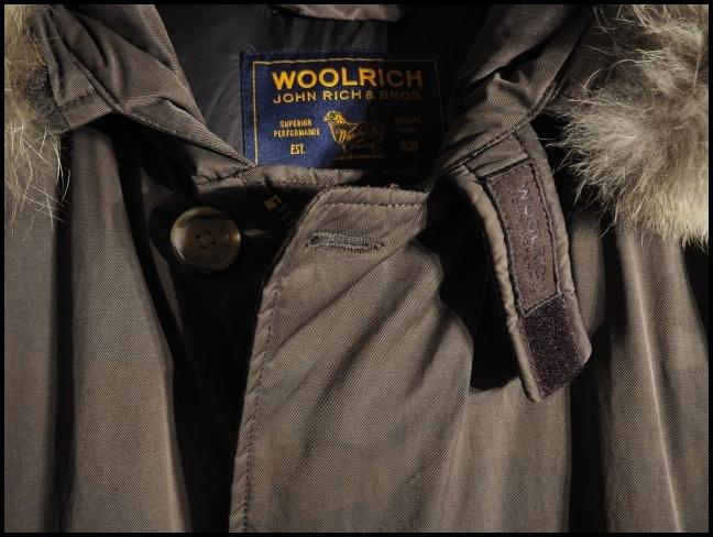 x2451P ●WOOLRICH ウールリッチ● ARCTIC PARKA アークティックパーカー 迷彩 ダウンジャケット コットン XS/S 秋冬 rb_画像5