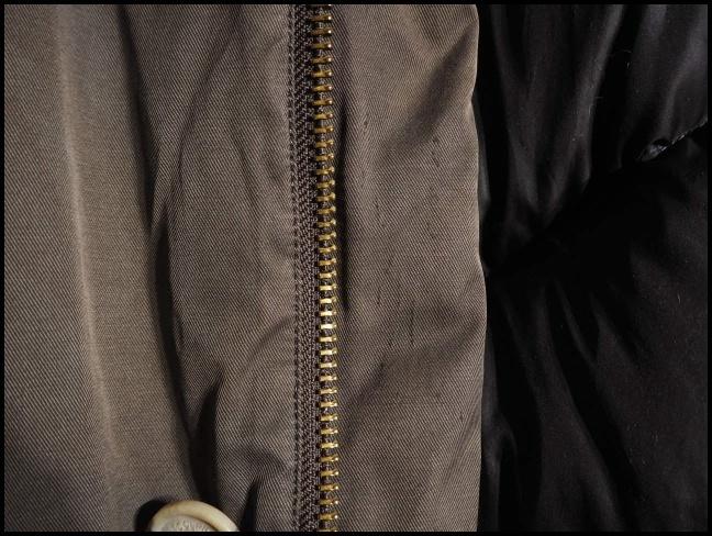 x2451P ●WOOLRICH ウールリッチ● ARCTIC PARKA アークティックパーカー 迷彩 ダウンジャケット コットン XS/S 秋冬 rb_画像6