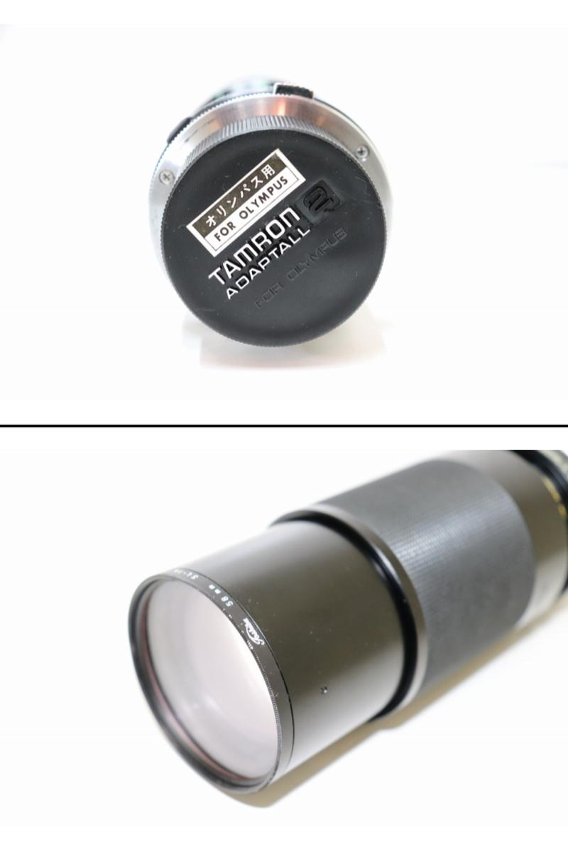 【B3】OLYMPUS オリンパスカメラ OM10 OM-SYSTEM ZUIKO MC AUTO-S 1:1.4 f=50mm/ TAMRON 1:38 80ー210 ACHIEVER828 ケース付き ジャンク_画像6