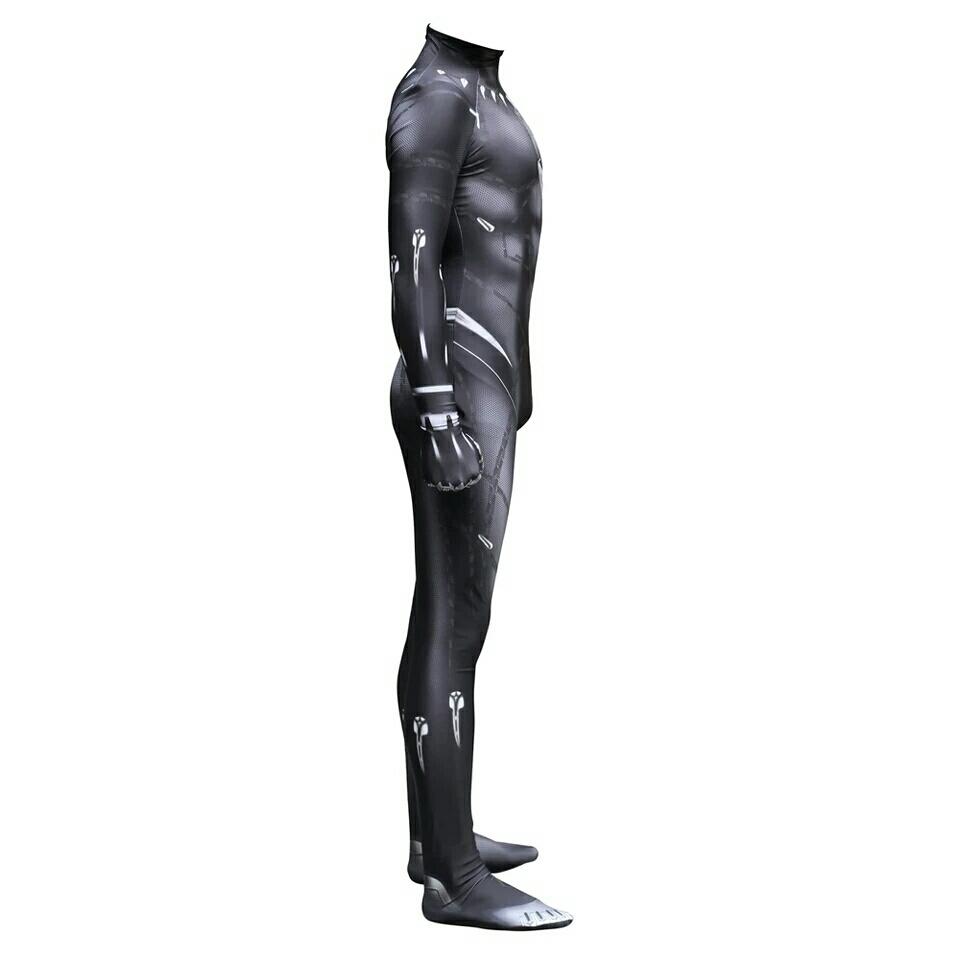 送料無料 ブラックパンサー ハロウィン パーティー イベント コスプレ 仮装 衣装 コスチューム 着ぐるみ キャラクター S M L XL XXL_画像3