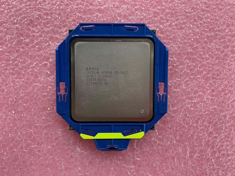 Intel Xeon E5-2643 4Cores 3.30GHz SR0L7 CPU Processor _画像1