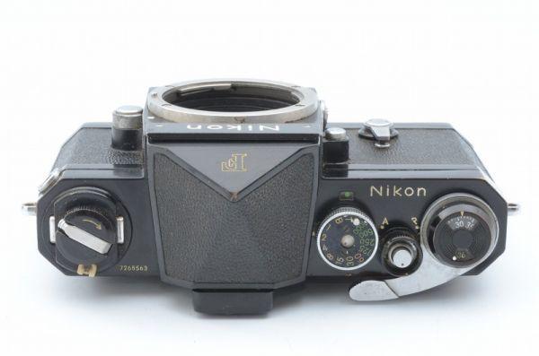 ★1円~ 動作良好 ニコン Nikon F アイレベル ブラックボディ 7265563_画像3
