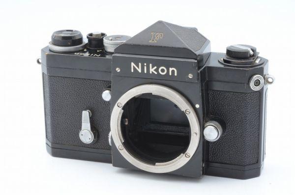★1円~ 動作良好 ニコン Nikon F アイレベル ブラックボディ 7265563