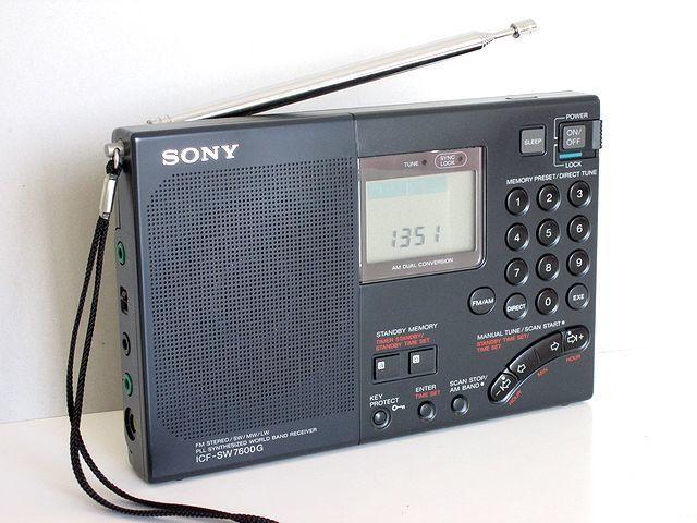 ソニー/SONY BCLラジオ ICF-SW7600G