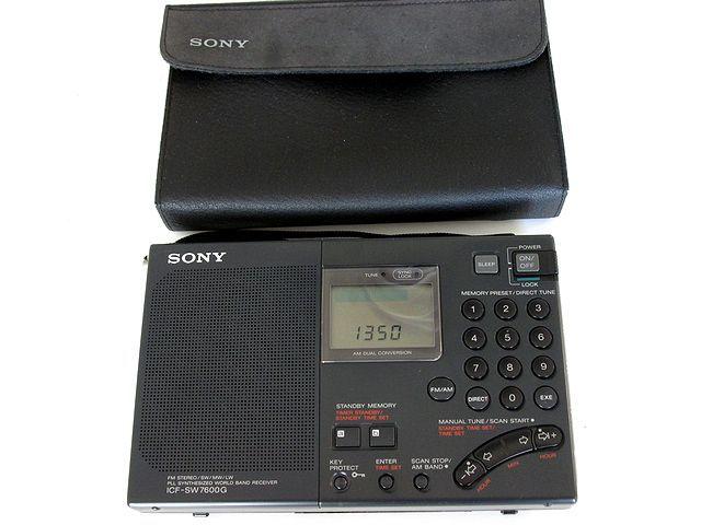 ソニー/SONY BCLラジオ ICF-SW7600G_画像2