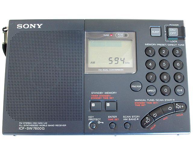 ソニー/SONY BCLラジオ ICF-SW7600G_画像3