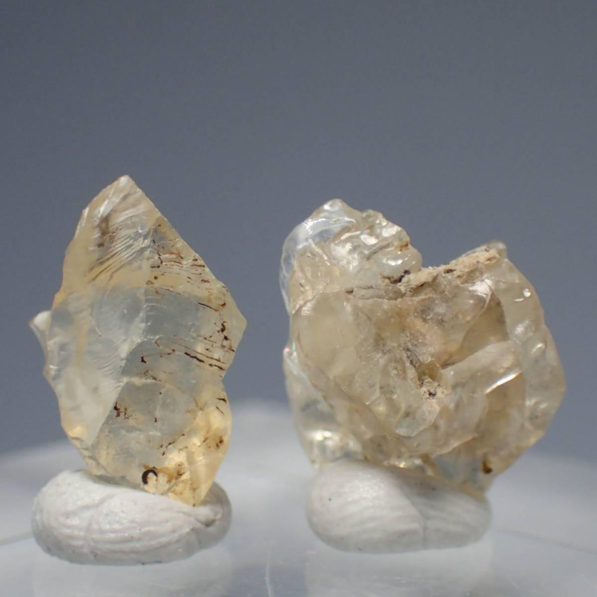 アメリカ合衆国 ユタ州 サンストーンノール産 サンストーン 計4.35ct 天然石 鉱物標本 長石 ラブラドライト パワーストーン_画像2