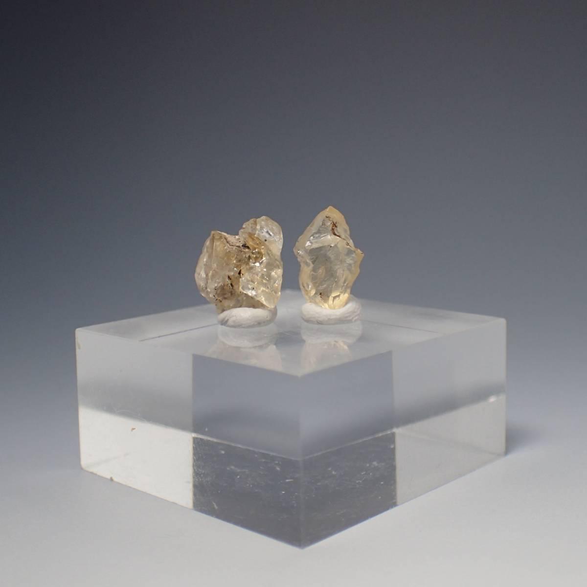 アメリカ合衆国 ユタ州 サンストーンノール産 サンストーン 計4.35ct 天然石 鉱物標本 長石 ラブラドライト パワーストーン_画像3