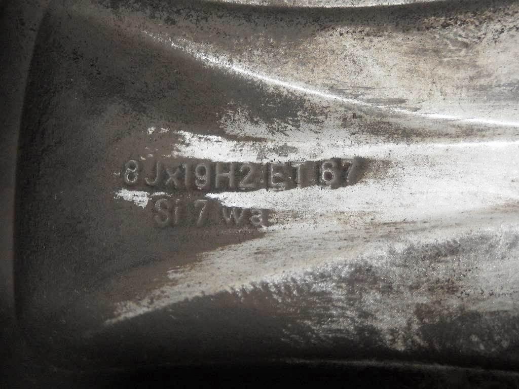 [2115]Rクラス ベンツ純正 19x8J ET67 PCD112x5H 中古_画像8