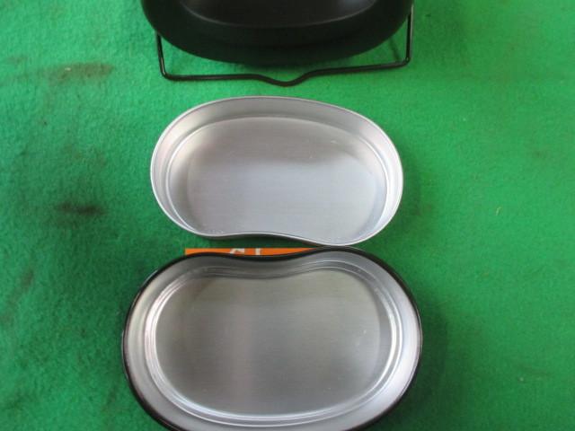 186 飯盒 ハンゴウ お米 飯盒炊爨 容量590g 4号焚き アルマイト加工_画像4