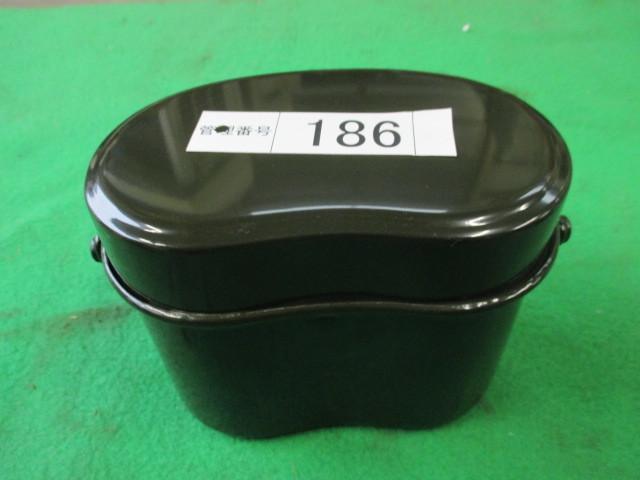186 飯盒 ハンゴウ お米 飯盒炊爨 容量590g 4号焚き アルマイト加工_画像6
