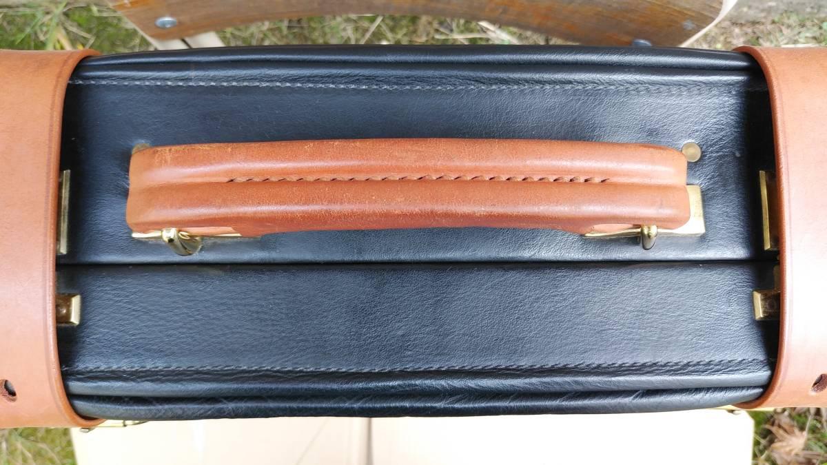 Tanner Krolle タナークロール トランク コノリーレザー ブライドルレザー 英国製 スーツケース_画像5