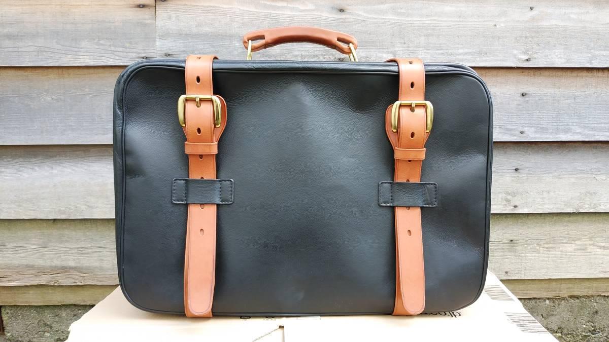 Tanner Krolle タナークロール トランク コノリーレザー ブライドルレザー 英国製 スーツケース