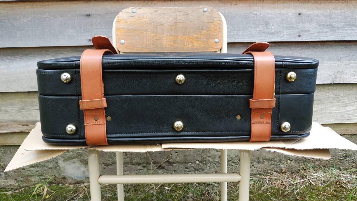 Tanner Krolle タナークロール トランク コノリーレザー ブライドルレザー 英国製 スーツケース_画像8