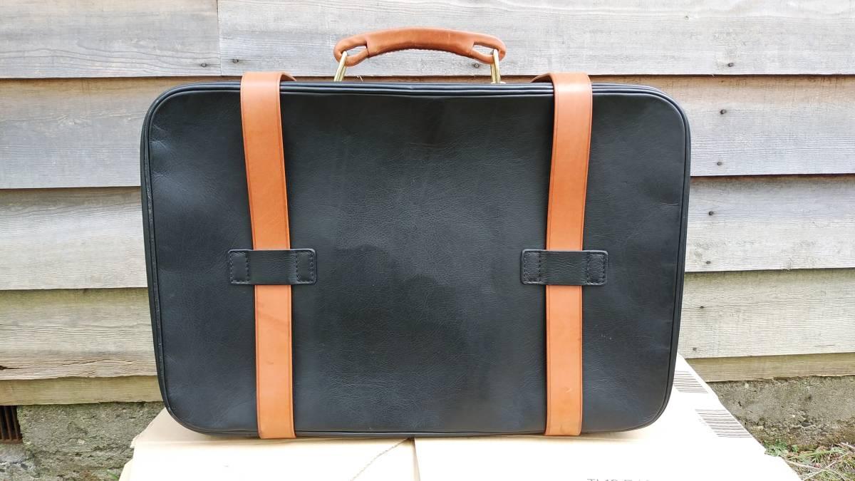 Tanner Krolle タナークロール トランク コノリーレザー ブライドルレザー 英国製 スーツケース_画像2