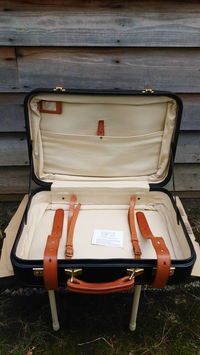 Tanner Krolle タナークロール トランク コノリーレザー ブライドルレザー 英国製 スーツケース_画像3