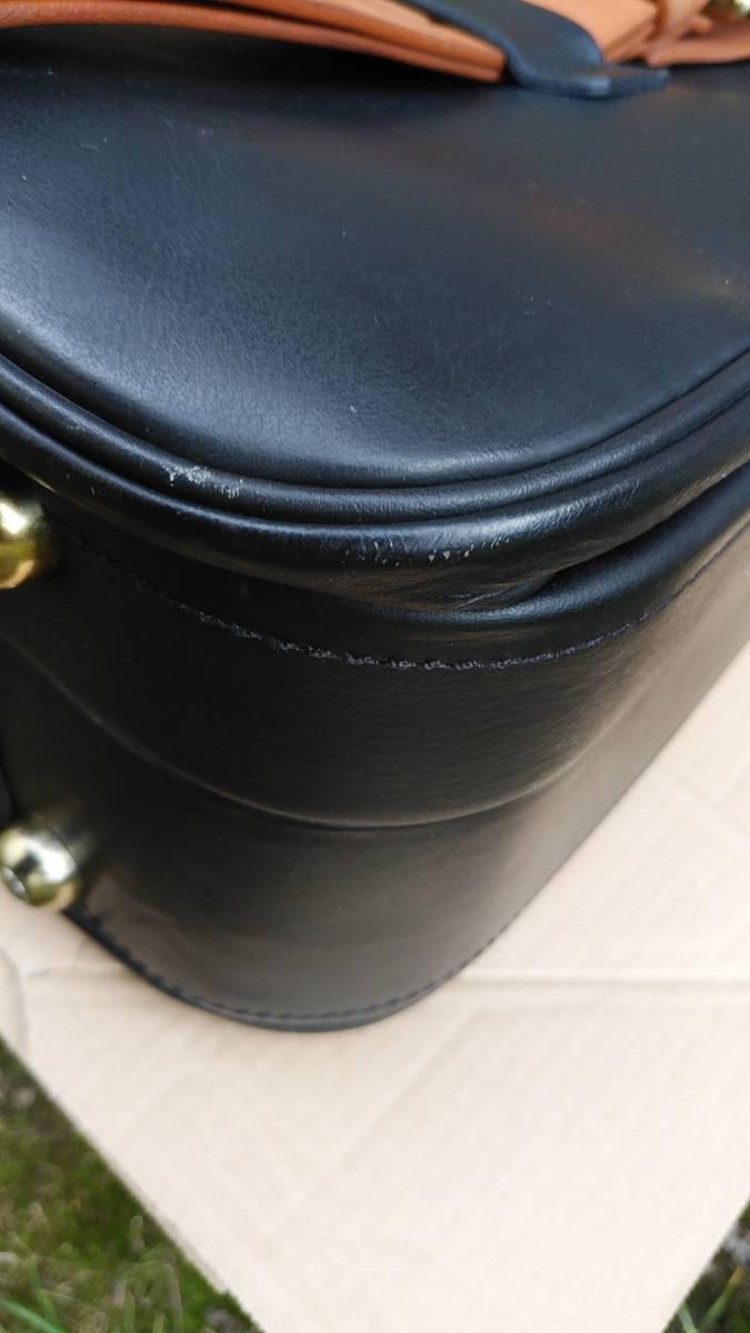 Tanner Krolle タナークロール トランク コノリーレザー ブライドルレザー 英国製 スーツケース_画像9
