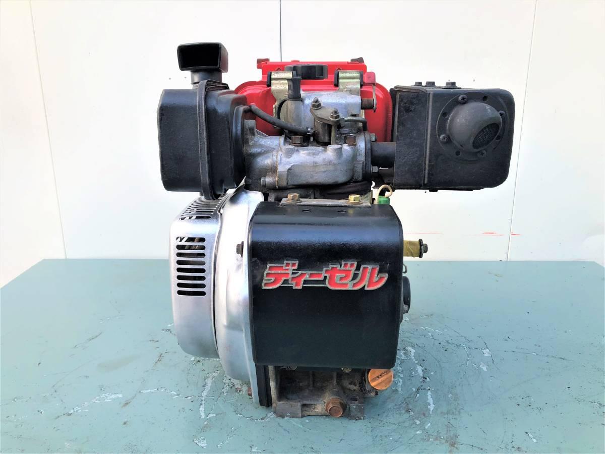 ヤンマー 発動機 ディーゼルエンジン 『 L40SET 』  4.2馬力 セルモーター付 シャフト20㎜_画像3