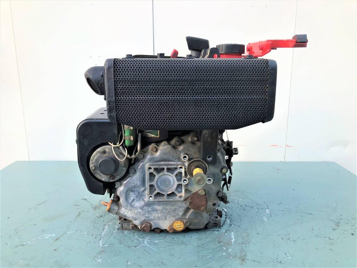 ヤンマー 発動機 ディーゼルエンジン 『 L40SET 』  4.2馬力 セルモーター付 シャフト20㎜_画像4