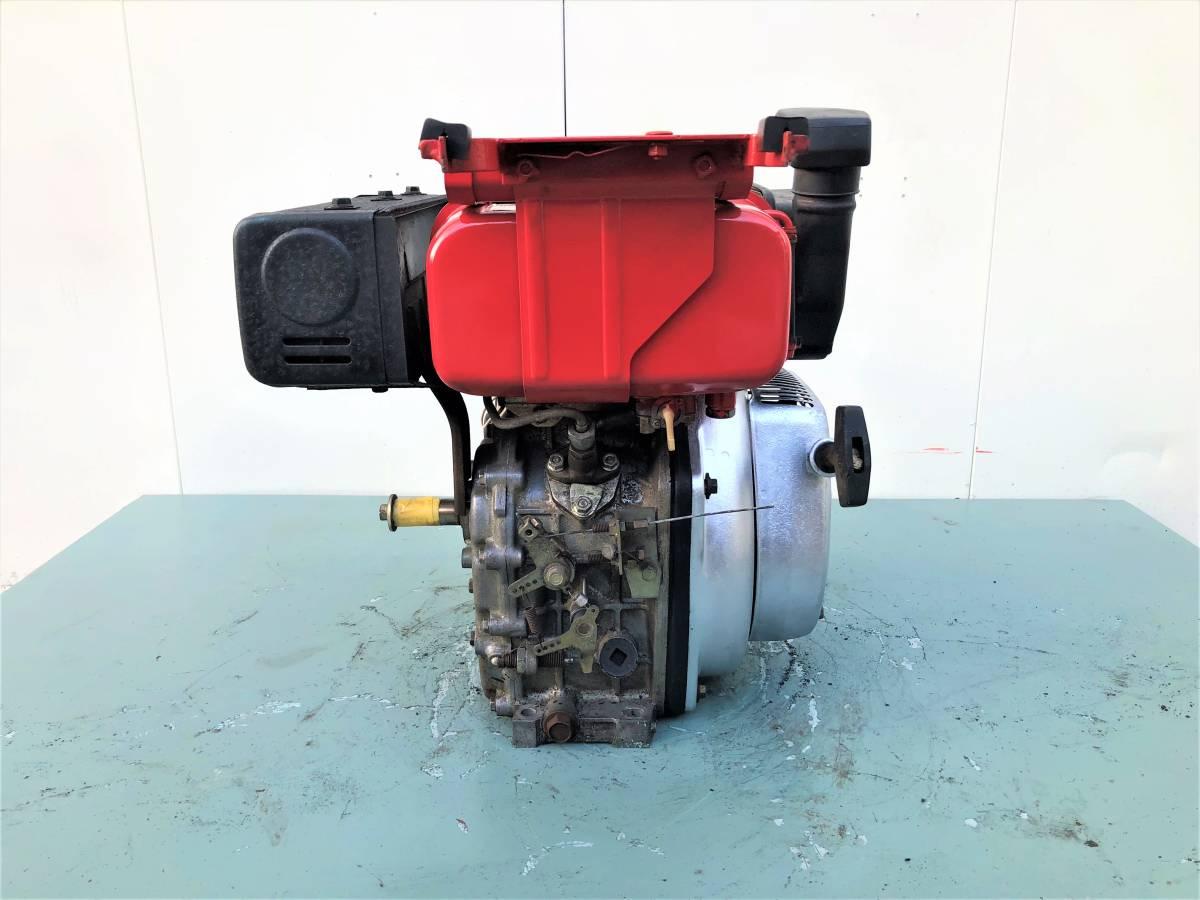 ヤンマー 発動機 ディーゼルエンジン 『 L40SET 』  4.2馬力 セルモーター付 シャフト20㎜_画像5