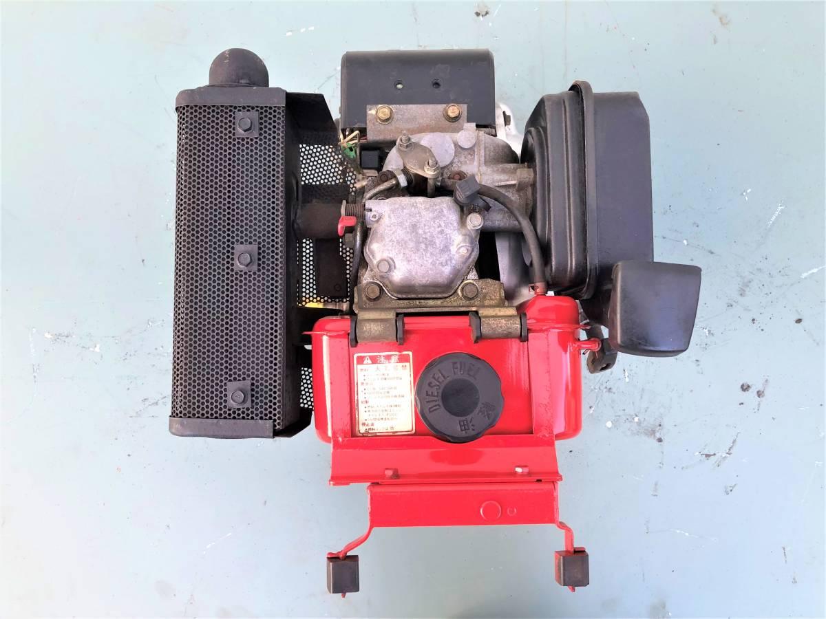 ヤンマー 発動機 ディーゼルエンジン 『 L40SET 』  4.2馬力 セルモーター付 シャフト20㎜_画像6