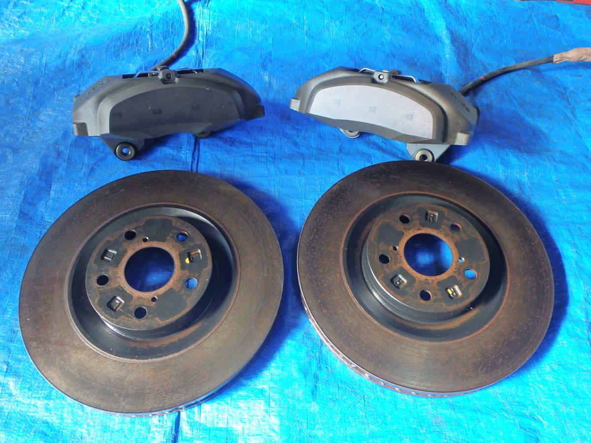 Crown   Athlete  GRS184  передний  4POT  суппорт    тормозной диск