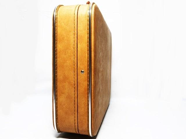 即決★N.B.★ビンテージトランク アタッシュケース 黒 ブラック 旅行鞄 ビジネスバッグ トラベル 出張 ブリーフケース 鍵付き_画像4
