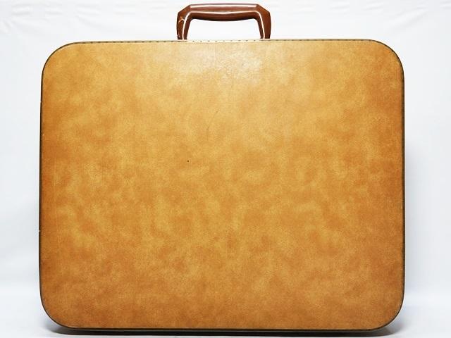 即決★N.B.★ビンテージトランク アタッシュケース 黒 ブラック 旅行鞄 ビジネスバッグ トラベル 出張 ブリーフケース 鍵付き_画像2
