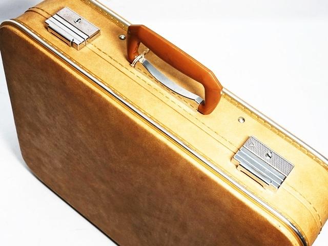 即決★N.B.★ビンテージトランク アタッシュケース 黒 ブラック 旅行鞄 ビジネスバッグ トラベル 出張 ブリーフケース 鍵付き_画像6