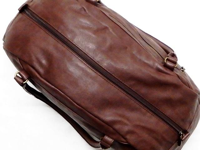 即決★anello★ボストンバッグ アネロ メンズ 茶 ブラウン トラベル かばん 出張カバン レディース 旅行鞄 ハンドバッグ_画像6