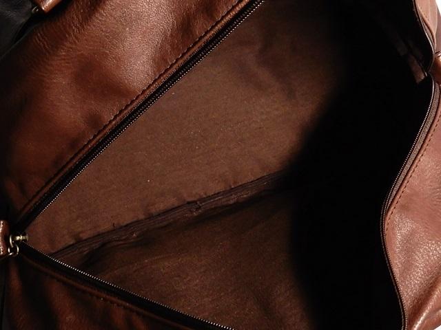 即決★anello★ボストンバッグ アネロ メンズ 茶 ブラウン トラベル かばん 出張カバン レディース 旅行鞄 ハンドバッグ_画像8