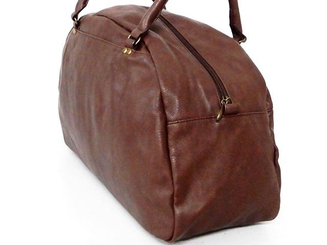 即決★anello★ボストンバッグ アネロ メンズ 茶 ブラウン トラベル かばん 出張カバン レディース 旅行鞄 ハンドバッグ_画像5