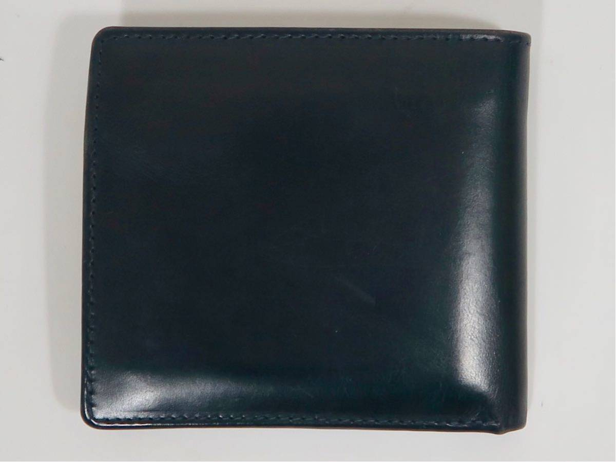 6a10404bafe2 代購代標第一品牌- 樂淘letao - Whitehouse Cox ホワイトハウスコックスS7532 COIN WALLET BRIDLE  LEATHER コインケース付き二つ折り財布ブライドルレザーネイビー