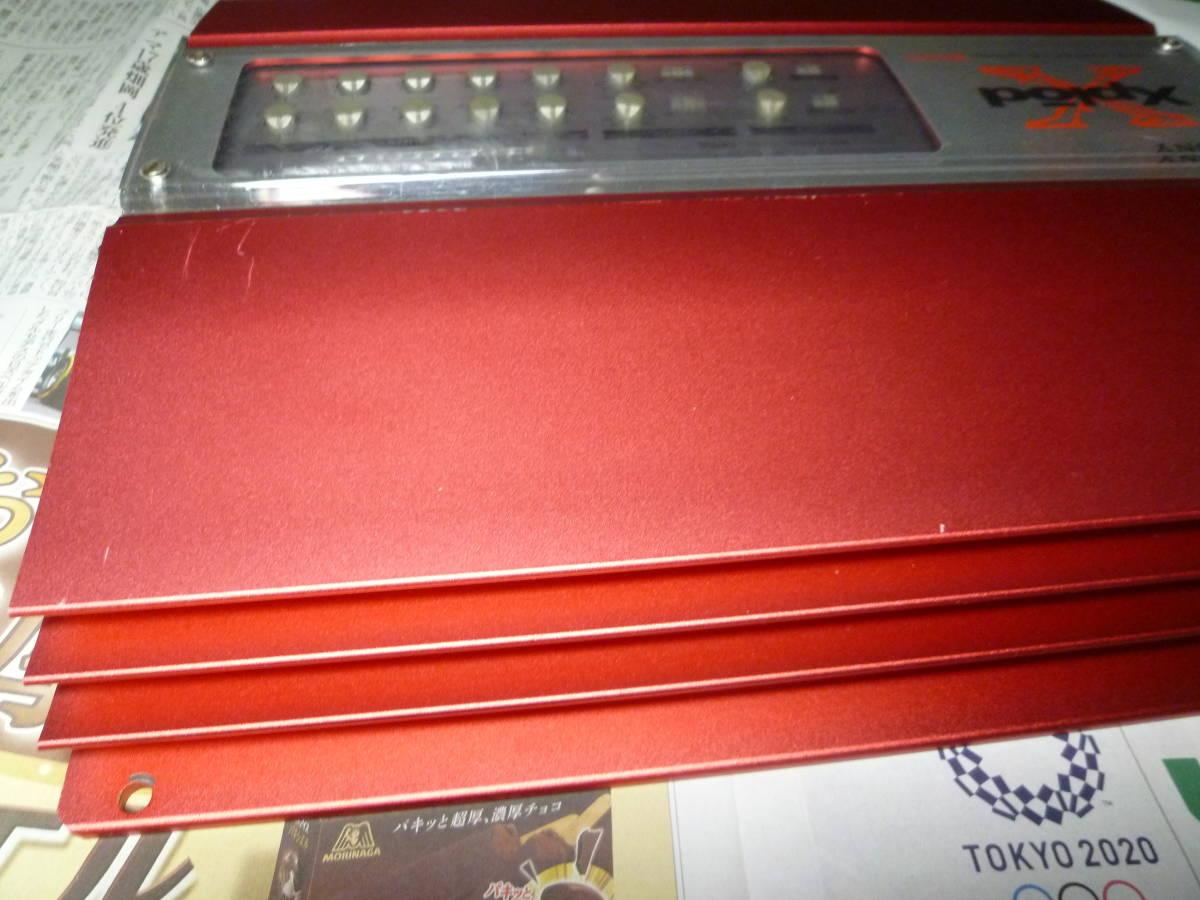 「I'ts a SONY」 ソニー SONY XM-604EQX 4/3/2chパワーアンプ オルタ・ポップノイズ車載動作確認 1週間動作保証有り 送料安いヤフネコ_画像8