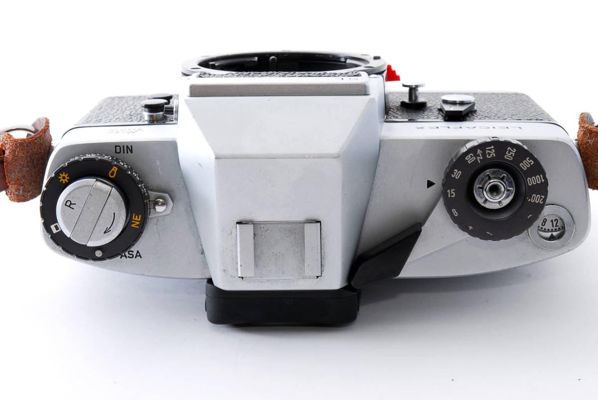 ★美品★ Leica ライカ LEICAFLEX SL フィルムカメラ シルバー #3537_画像4