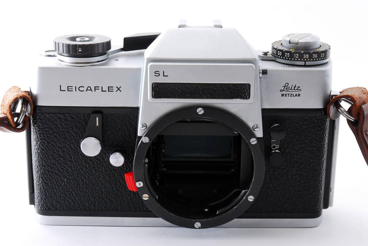 ★美品★ Leica ライカ LEICAFLEX SL フィルムカメラ シルバー #3537_画像3