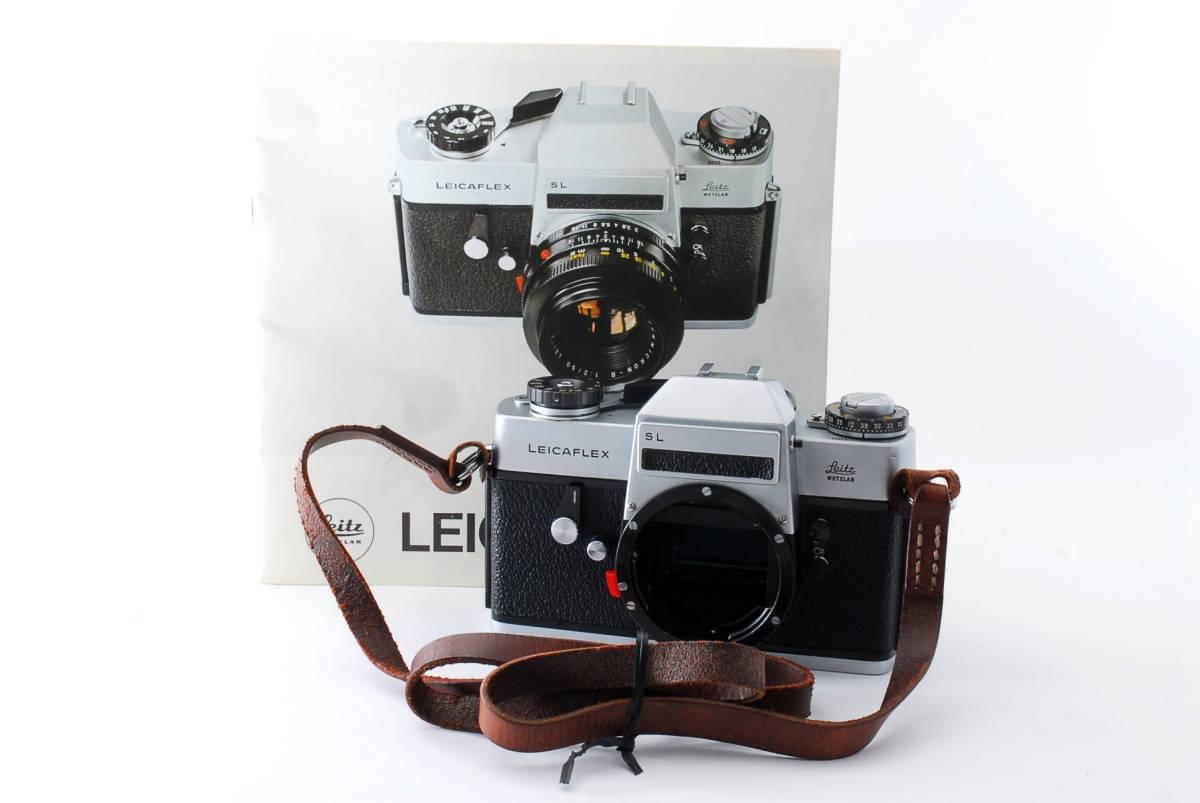 ★美品★ Leica ライカ LEICAFLEX SL フィルムカメラ シルバー #3537