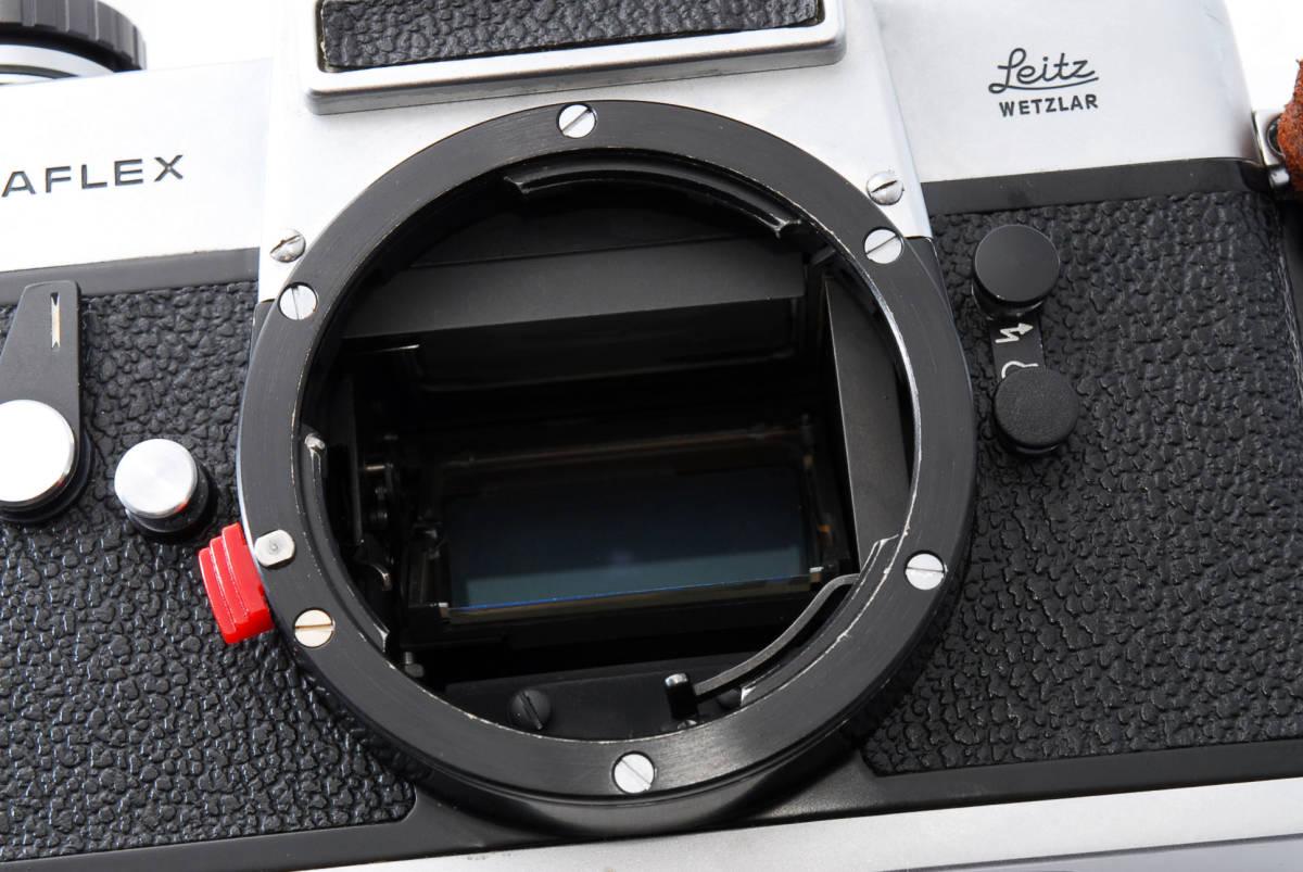 ★美品★ Leica ライカ LEICAFLEX SL フィルムカメラ シルバー #3537_画像10