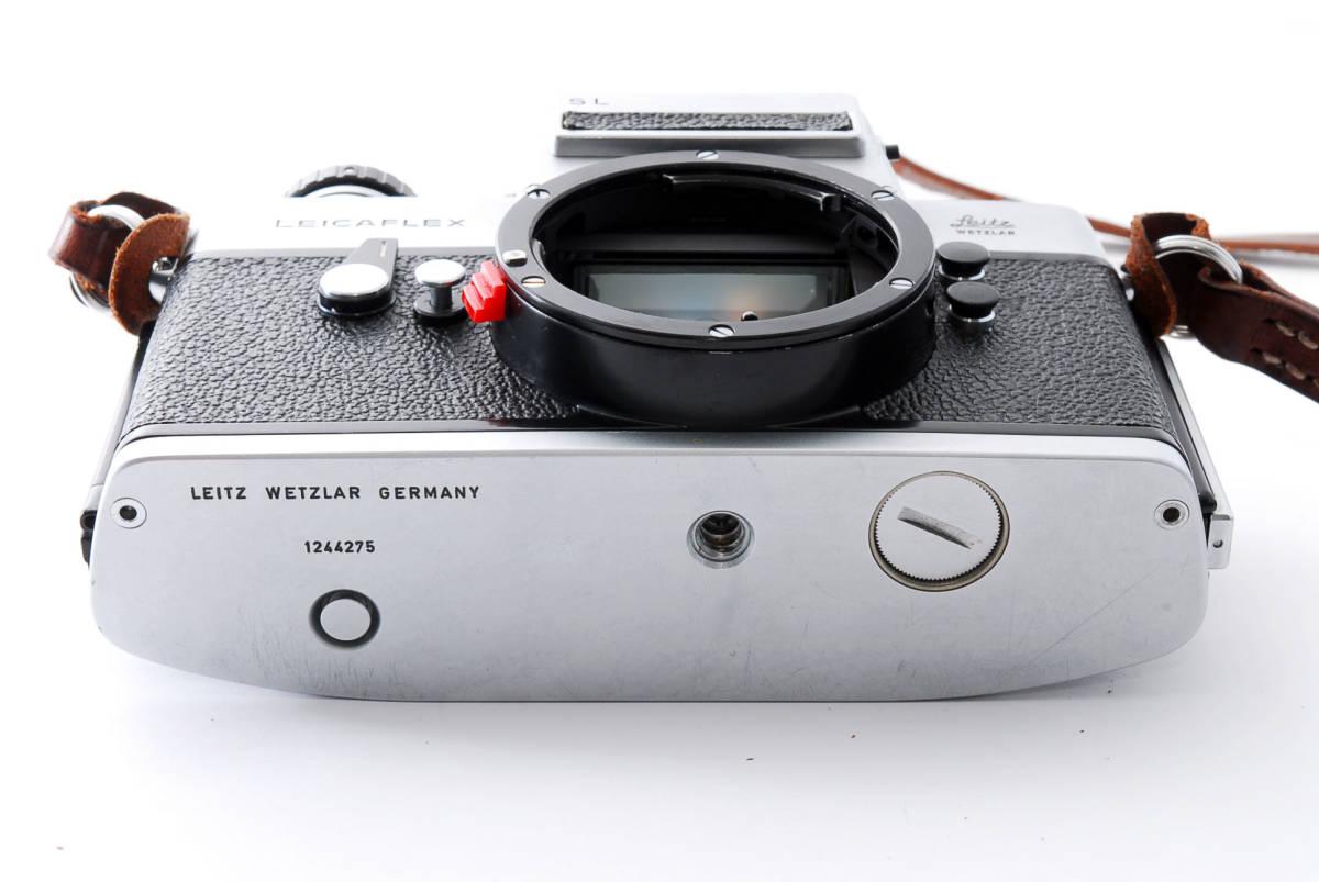 ★美品★ Leica ライカ LEICAFLEX SL フィルムカメラ シルバー #3537_画像9