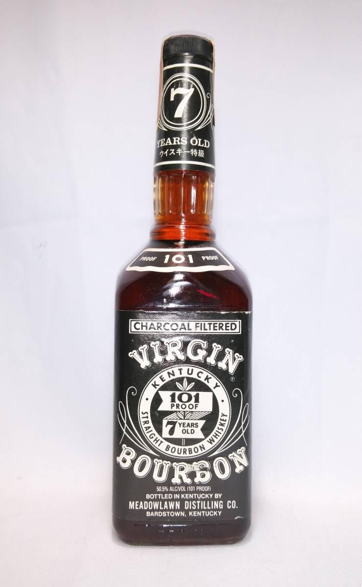 【全国送料無料】特級 Virgin Bourbon 7years old バージン ヴァージン7年 50.5度 750ml_画像3