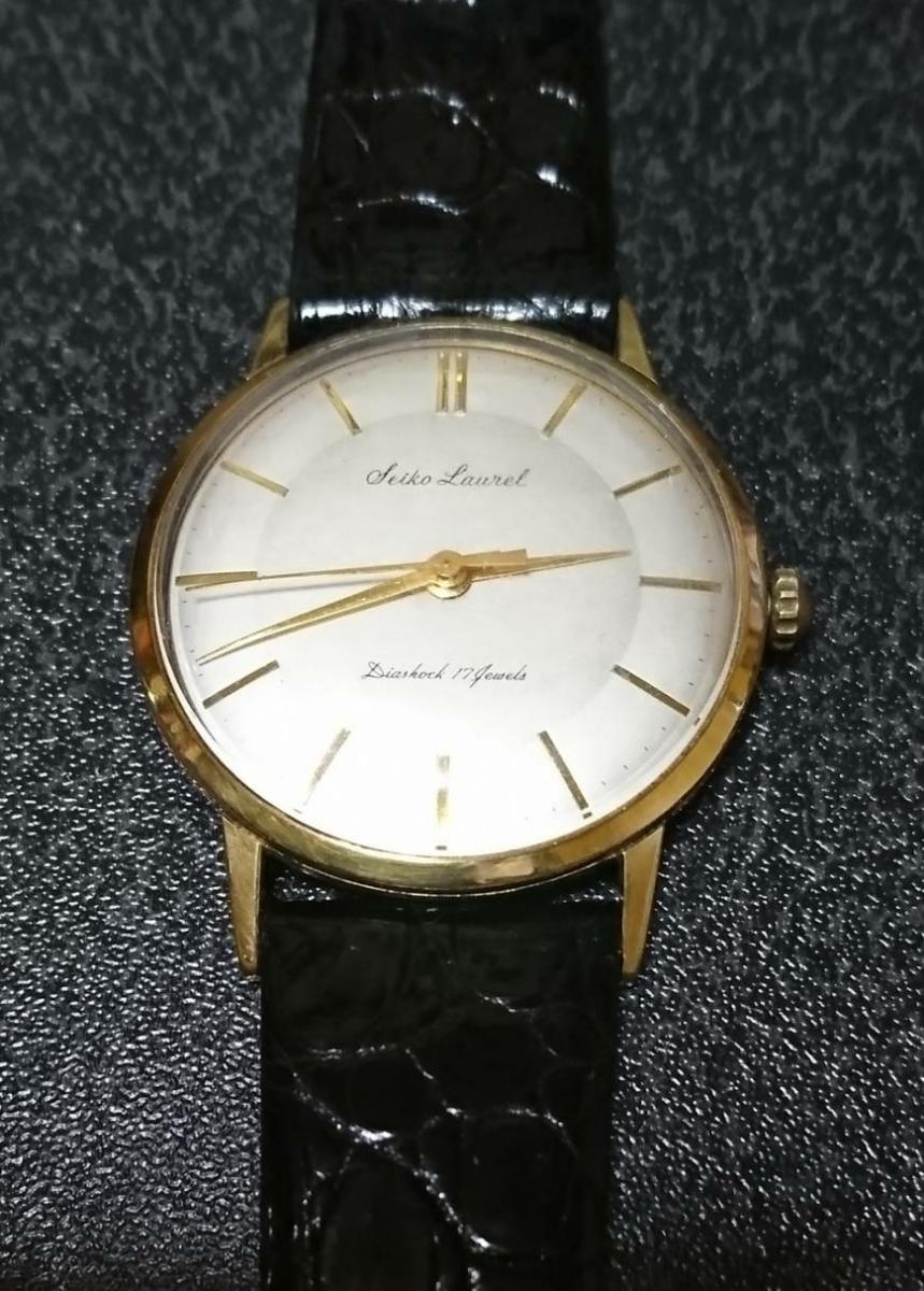 【マニュアル式腕時計】SEIKO セイコー 手巻き式 SEIKO LAUREL セイコーローレル 14079 1
