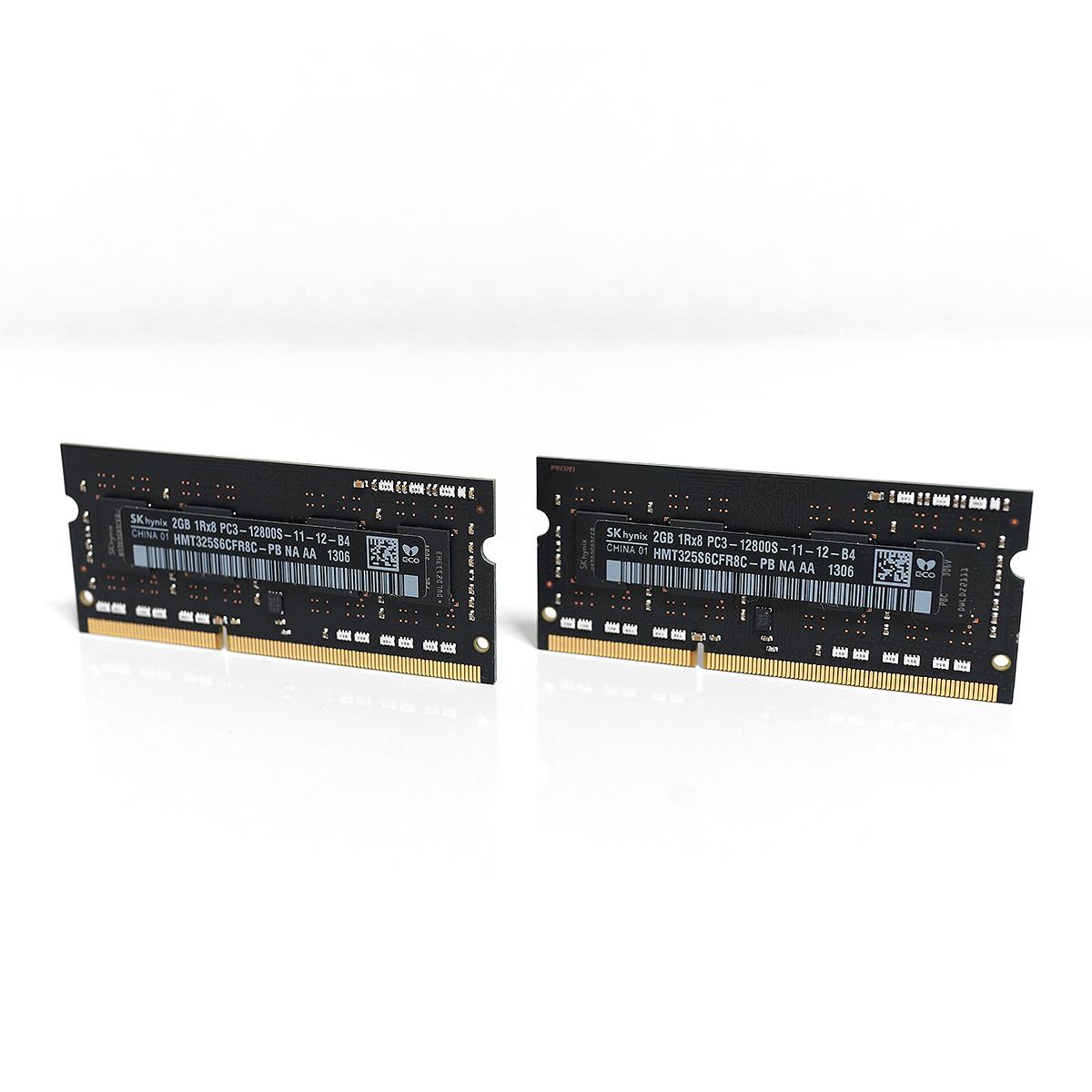 Apple純正 SK hynix PC3-12800S(DDR3-1600)4GB(2GB×2)