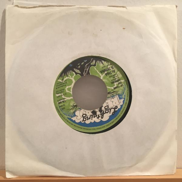 ★Althia & Donna/Up Town Top Ranking ★MURO MIX収録LOVERS!7inch 45_画像3