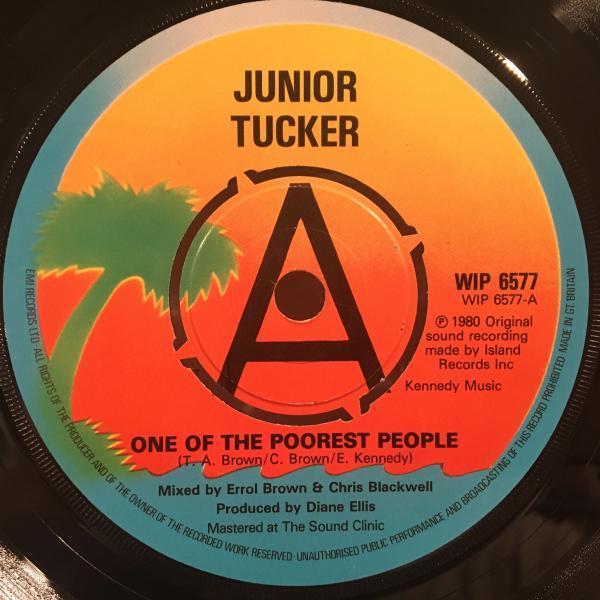★Junior Tucker/One Of The Poorest People★キッズVOメロウLOVERS名曲!_画像1