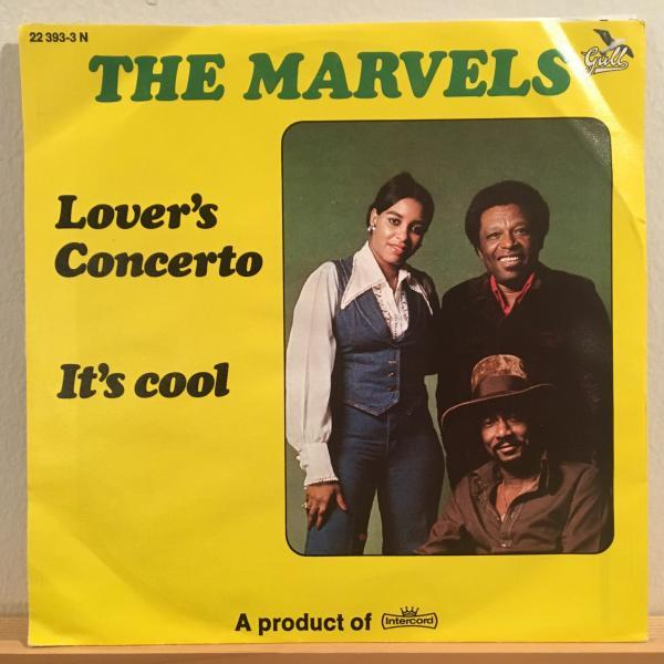 ★Marvels/Lover's Concerto★クラシック名曲カバー!7inch 45