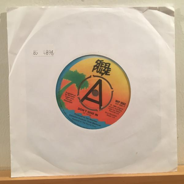 ★Steel Pulse/Don't Give In★KILLER UK ROOTS!7inch 45_画像3