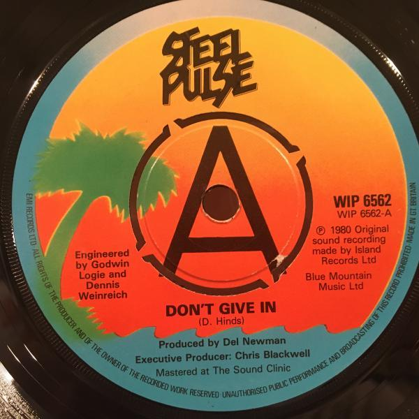 ★Steel Pulse/Don't Give In★KILLER UK ROOTS!7inch 45
