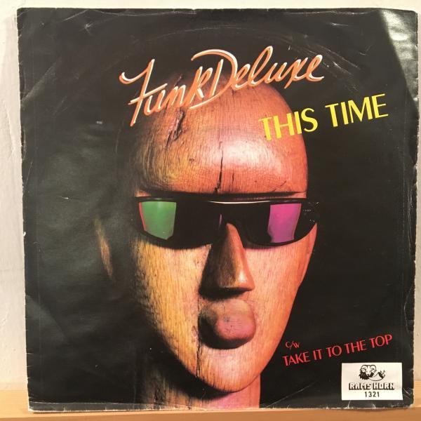☆Funk Deluxe/This Time☆SYNTH BOOGIE!7inch 45_画像1